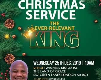Christmas Service – The Ever-Relevant King