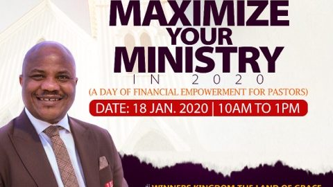 Maximize Your Ministry in 2020